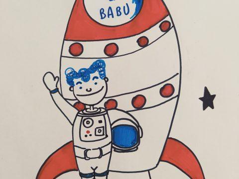 L'astronave di Babu